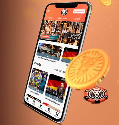 LeoVegas Mobiles Spielen