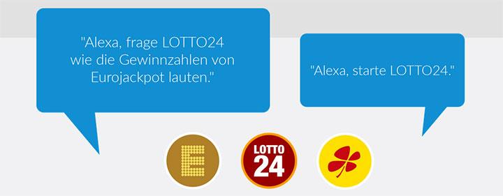 Lotto24 Alexa Skills