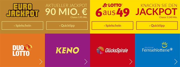 Lotto24 Lotterieangebot