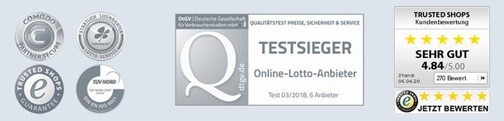 Lottobay Gütesiegel